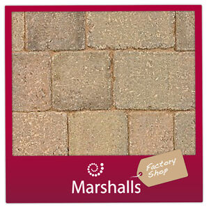 Marshalls Tegula 80mm Driveway Block Paving 80mm Harvest 33.86m2