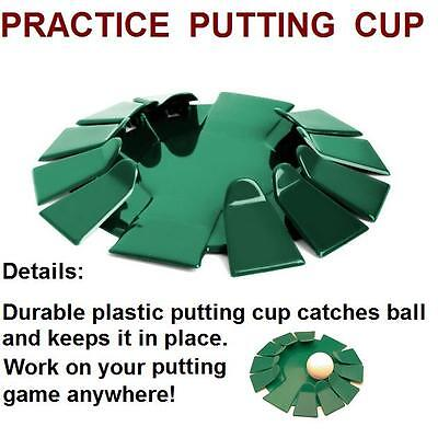 Green All-Direction Practice Putting Cup Golf Putter Training Aid Indoor/Outdoor