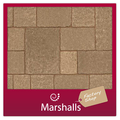 CONCRETE BLOCK PAVING MARSHALLS TEGULA 320X240X50MM ONLY MIN ORDER 3 PACKS