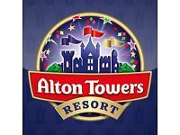 4 x Alton Towers tickets 5th October 2017 Thursday 05/10/17