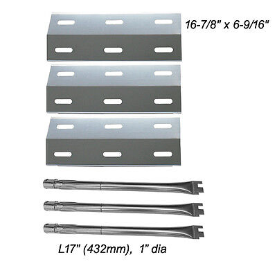 Ducane Gas Barbecue Grill 30400040 Replacement Burners & Heat Plates Ducane Gas Grill Burners
