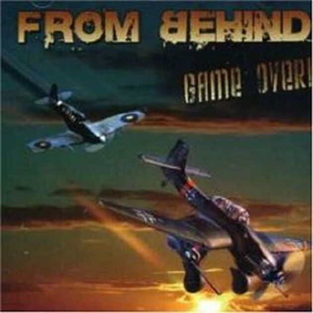 FROM BEHIND - Game Over - CD - NEU OVP