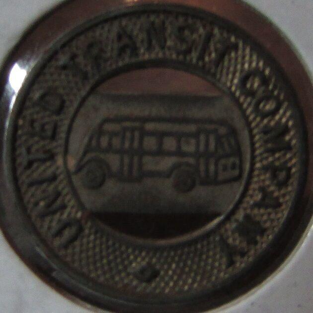 1944 United Transit Company Missoula, MT Bus Token - Montana