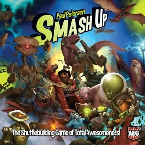 Smash Up Board Game (with expansion!)