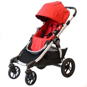 Baby Jogger City Select Stroller Rouge Simple + Coquille