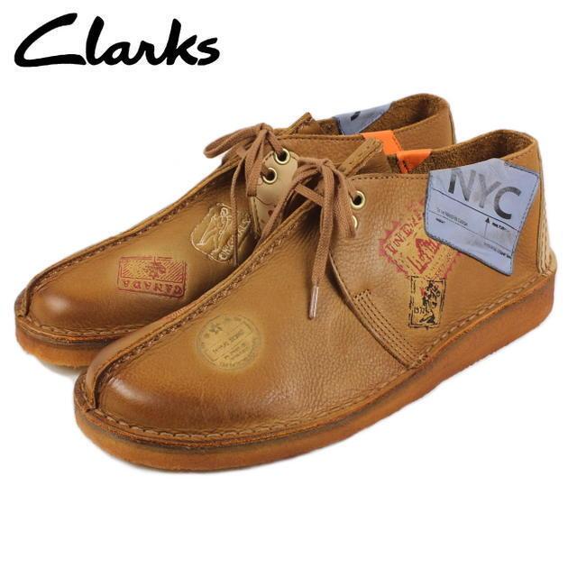 Clarks Originals Men Desert Travel Trek tan Seam Lea , NYC Limited Stock 2