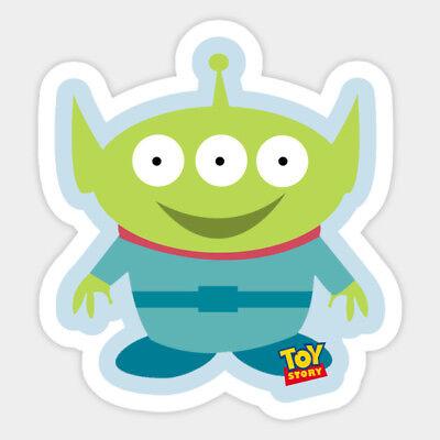 Pixar Toy Story Alien Toys Buzz Decal Decor Car Bumper Laptop Vinyl Sticker
