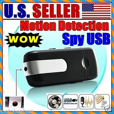 Used, Mini Hidden Spy1 Camera Digital Video Mini DVR Motion Activated Recorder Cam USB for sale  Shipping to India