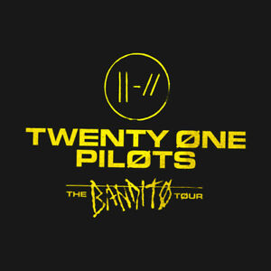 BILLET TWENTY ONE PILOTS PAYÉ + 110$