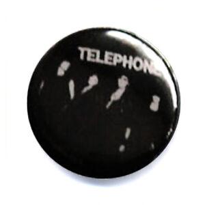 badge telephone groupe rock fran ais culte ann es 80 pop punk retro 25mm ebay. Black Bedroom Furniture Sets. Home Design Ideas