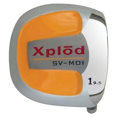 Xplod Square Orange Titanium Driver Graphite Right Hand