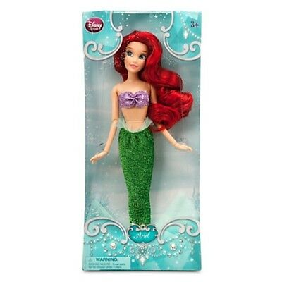 New Disney Store Classic Princess Ariel Doll 12  Nib The Little Mermaid