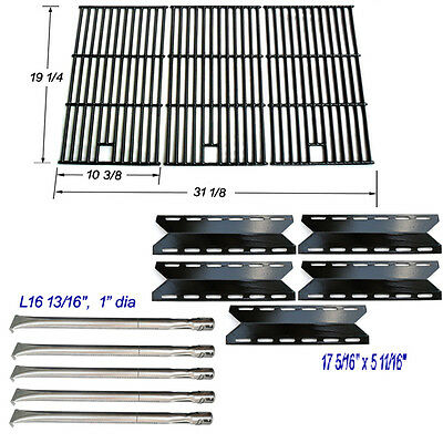 (Nexgrill 720-0025 Replacement Grill Burner, Heat Plate,  Cooking Grill Grates)