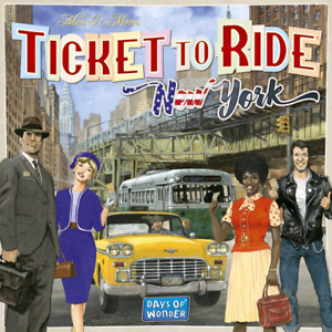 Brand New Sealed - Ticket to Ride New York Board Game