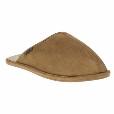 Superdry Classic Mule House Slippers Tan Size UK 8/9 EU 42/43 NH089 TT 02