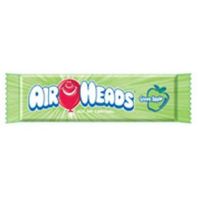 Airheads Green Apple Candies 36 Ct (pack Of 3)
