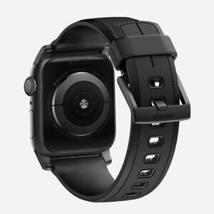 Nomad Matte Black rubber strap, 42mm, Swim Proof, for series 1,2 and 3, Brand new at discounted price. #2981138