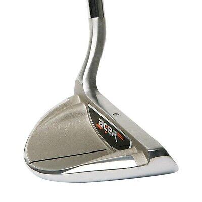 """Acer XK Chipper-Left Hand/LH-34"""" Shaft-Karma Black Velvet Std Golf Grip-Mens"""