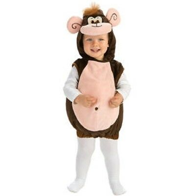 Curious George Costume Baby (Rubie's Monkeyin' Around Infant Costume Monkey Chimp Curious George - 6)