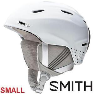NEW SMITH HELMET WOMEN'S SM ARRIVAL - WHITE DOTS - SKIING SNOWBOARDING WINTER SPORTS 100152605