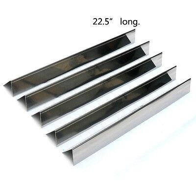 "7536 7537 22.5"" Stainless Steel Flavorizer Bars for Weber Spirit & Genesis,5pcs"