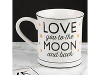 Love You To The Moon Mug - New