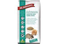 Mr Johnson's Advance Hamster And Gerbil Food.