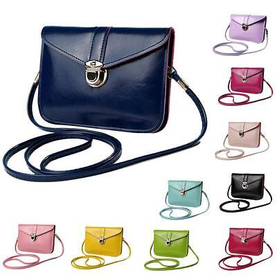 Fashion Woman Purse Bag Leather Handbag Single Shoulder Messenger Phone Card Bag