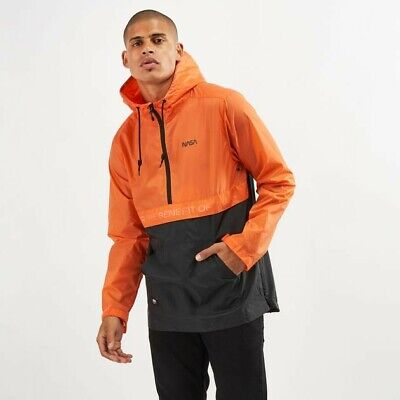 Vans Space Voyager Men Jackets Orange/Black Size large VR208 04