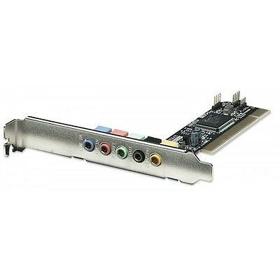 Scheda Audio interna PCI Sound Card  5.1