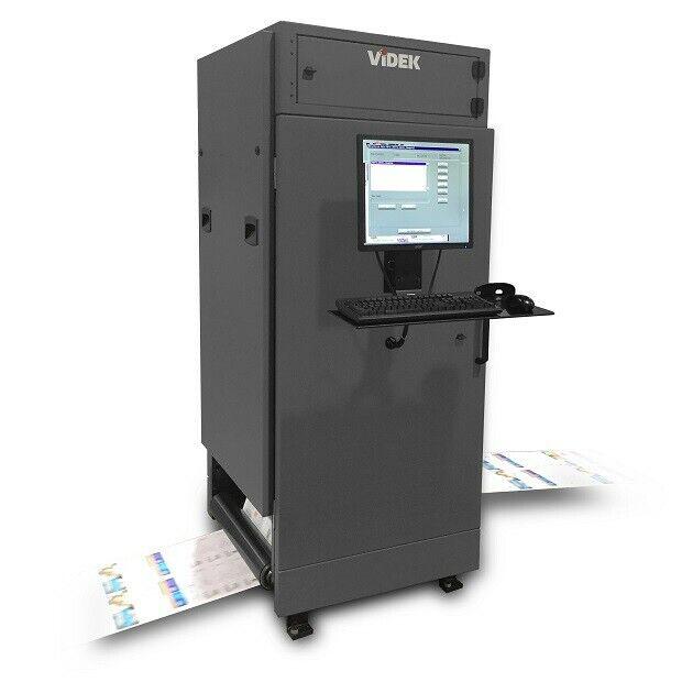 Videk Printing Inspection System, 4 Camera , Color , Front and back 500fpm
