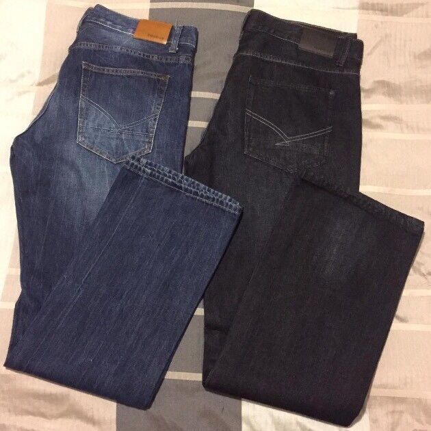 Firetrap Men's Jeans Size 36L, 2 pairs - 1 brand new 1 worn once