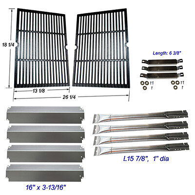 (Charbroil Commercial 463268007 Grill Grate,Burner,Carryover Tubes,SS Heat Plate )