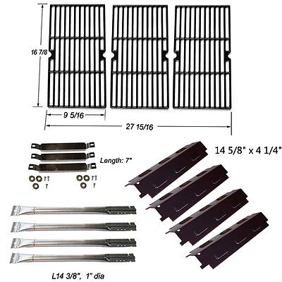 Charbroil 4Burner Grill Replacement Burner,Carryover Tube,Heat Plate,Grill - Replacement Burner Grates