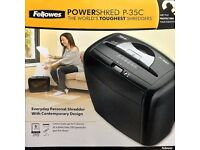 Fellowes P35C 5 sheet 12 Litre Cross Cut Shredder