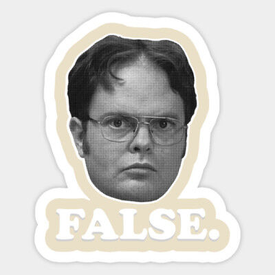The Office Funny Meme Dwight Schrute Vinyl Wall Decal Room Phone Decor Sticker](Office Decorate)