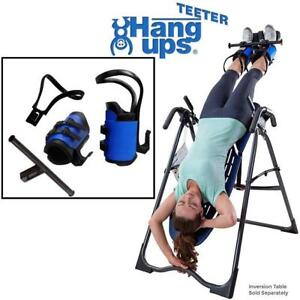 NEW TEETER EZ-UP GRAVITY BOOTS B1-1032 196316499 HANG UPS WITH BONUS CONVERSION BAR