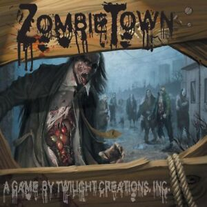 Zombie Town Board Game by Twilight Creations