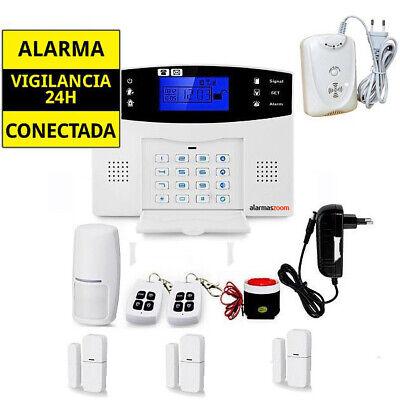 Sistema de alarma para casa sin cuotas con Sensor Gas y sensor...