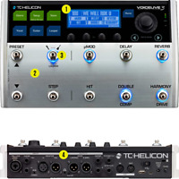 TC Helicon VOICELIVE 3 Help.