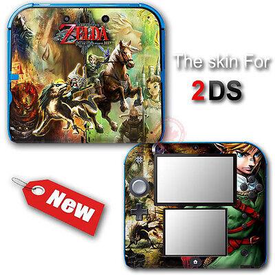 The Legend of Zelda Twilight Princess Skin Sticker Decal Cover for Nintendo
