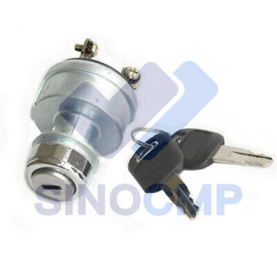 9g-7641 9g7641 Ignition Switch With 2 Keys For Caterpillar E320c Excavator