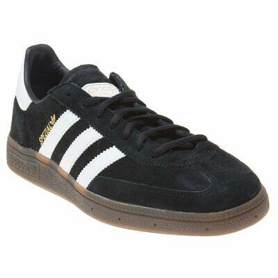 New MENS ADIDAS BLACK HANDBALL SPEZIAL NUBUCK Sneakers Retro