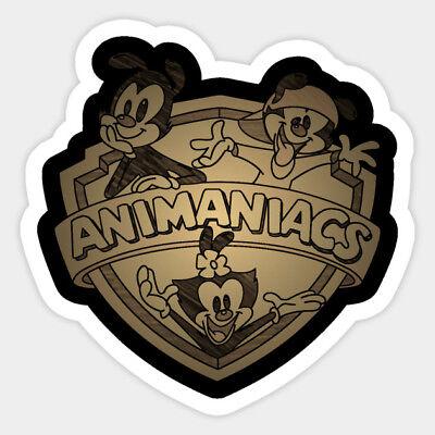Animaniacs Wakko Yakko Dot 90s Animation Vinyl Decal Room Decor Sticker Bumper - 90s Room Decor