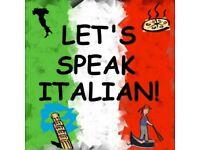 Italian Classes 15£/hour