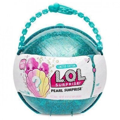 Lol Pearl Surprise Mga 2018 Limited Edition New Release Mermaid L O L  Doll Big