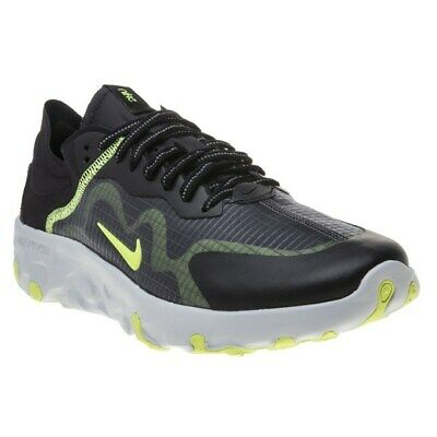 New Mens Nike Black Renew Lucent Synthetic Trainers Running Style Lace Up