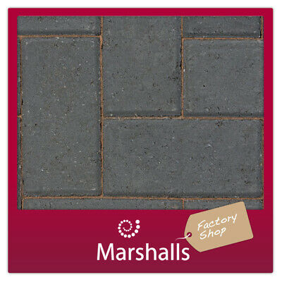 CONCRETE BLOCK PAVING 60MM KEYBLOK CHARCOAL MINIMUM ORDER 3 PACKS