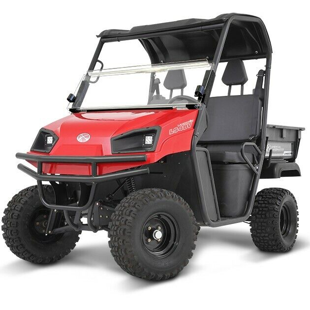 2018 American Landmaster SUV Model 48V Electric Color is Red