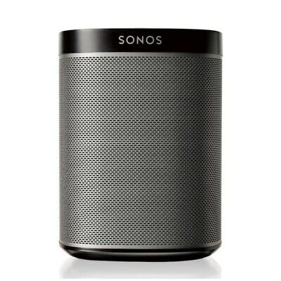 Sonos PLAY 1 Wireless Speaker (Black and Gray) Barely Used